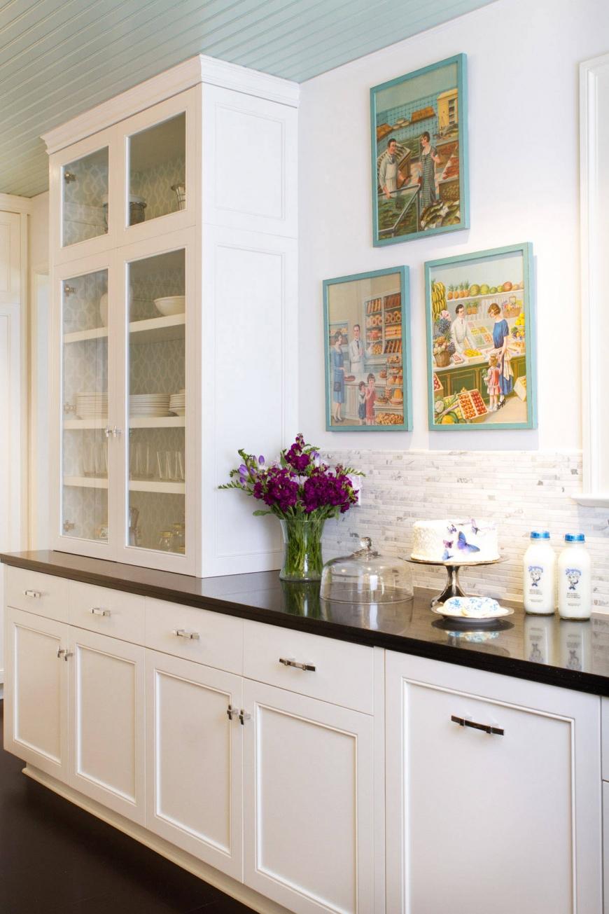 Маленькие кухни с буфетом дизайн