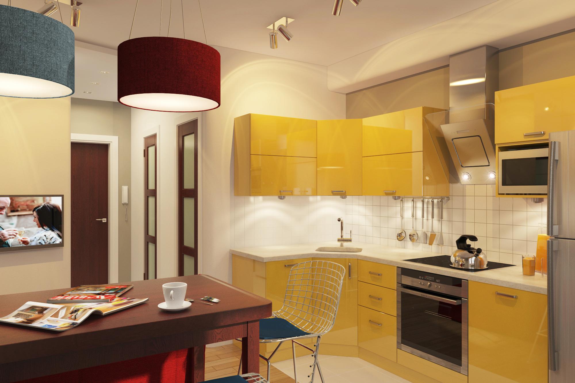 Дизайн кухонь в 137 серии в спб